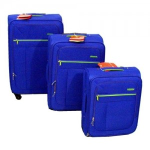 Amicasa Amicasa .Set 3 Trolley Blue 17N028 - 17N028