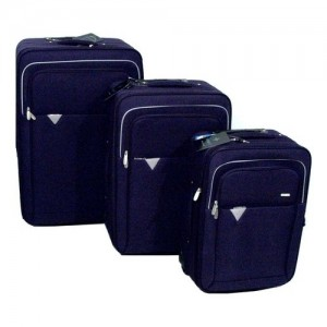 Amicasa Amicasa .Set 3 Trolley Dark Blue/l. Grey 17N022 - 17N022