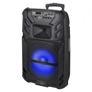 Trevi 120 W, Bluetooth, USB, Micro SD, Aux in, Mic in, Aux out, LCD, 20.8 Kg - XF1500