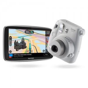"Tomtom GO ESSENTIAL 6"" + instax mini 9"