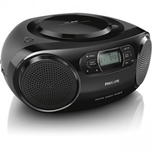 Philips AZB500 Lettore CD portatile Nero