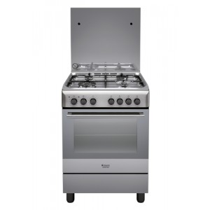 Hotpoint H6TMH2AF (X) IT cucina Piano cottura Acciaio inossidabile Gas A