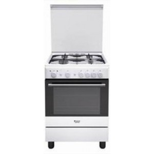 Hotpoint H6GG1F (W) IT Piano cottura Bianco Gas A