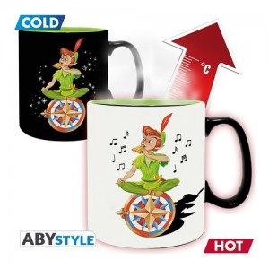 Aby Style DISNEY Heat change mug Peter Pan Neverland King size