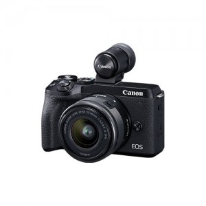 Canon EOS M6 Mark II + EF-M 15-45IS + EVF DC2