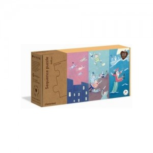 Clementoni Sequence Puzzle Fairy Tales